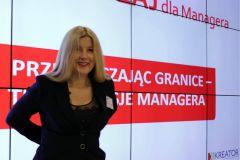 Mikołaj Dla Managera 2014 - Katarzyna Grzempowska - prelekcja