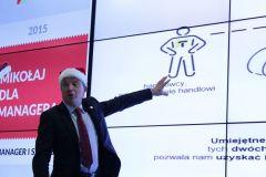 Mikołaj Dla Managera 2015 - Krzysztof Folta podczas wspaniałego wystąpienia