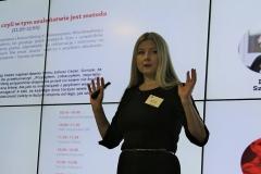 Mikołaj Dla Managera  2016 - Katarzyna Grzempowska podczas prelekcji