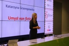 Mikołaj Dla Managera 2017 - wystąpienie Katarzyny Grzempowskiej