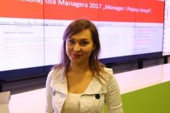 Mikołaj Dla Managera 2017 - Justyna - szczęśliwa ręka do losowania nagród