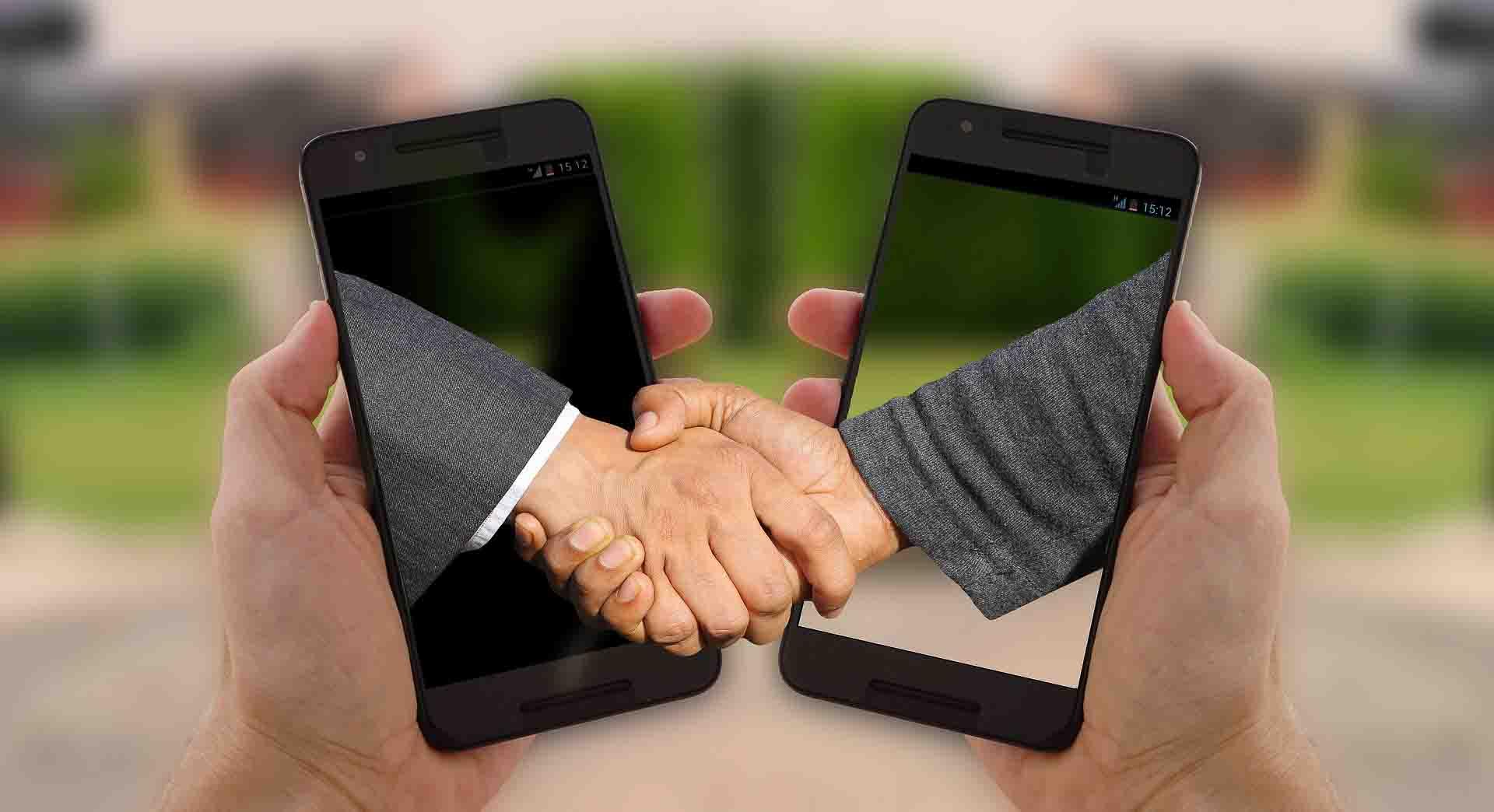 sprzedaż i spotkania handlowe online